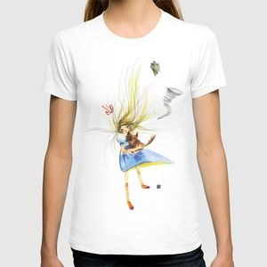 Whimsical Wizard of Oz Art Drawing T Shirt